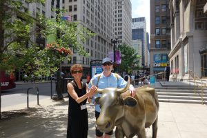 Cattle Trade was importens for Chicago