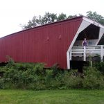 Cedar Bridge in Winterset