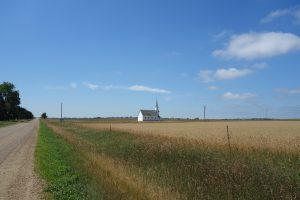 A prairie church