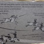 Memorial for the Indians at Little Bighorn Battlefield