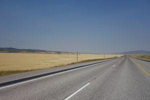 Wheat fields in Idaho