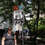 Her starter Route 66